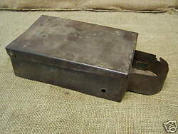 Vintage Unmarked Tractor Tool Box Old Antique Parts