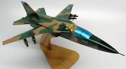 F-111 Aardvark Fighter Airplane Wood Model Replica Large Free Shipping