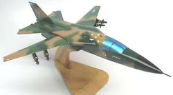 F-111 Aardvark Fighter Airplane Wood Model Replica Sml Free Shipping