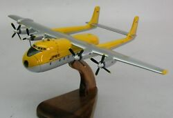 Armstrong Aw-650 Argosy Airplane Wood Model Replica Small Free Shipping