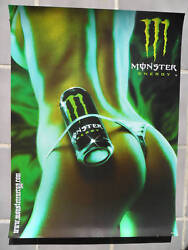 Sexy Girl Dorm Poster Monster Energy Drink Thong