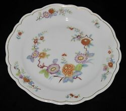 Hutschenreuther Mandalay 31372 Floral, Salad Plate, 7 7/8