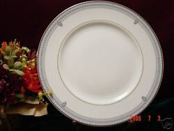 4lenox Sheraton Blue Dinner Plate New Discontinued 1994