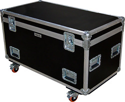 4 X 2 X 2 Swan Flight Case Road Cable Trunk Hex