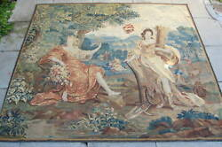 IMPORTANT 17th Century Flemish Baroque 112x114 FINE Tapestry      MAGNIFICENT