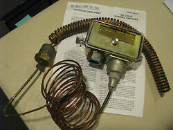 Detrioit Switch 2222535 And 222-10nnm-2222535 Thermostatic Nsn 5930-01-032-8291