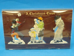 Department 56 Christmas Carol Characters 6505-6 New In Box