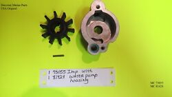 Scott Mcculloch 7.5 Hp 9 Hp Outboard 73055 Water Pump Impeller And Housing New