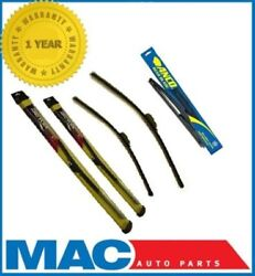 2009-2011 Dodge Journey Front And Rear Saver Wiper Blades 3pc Kit