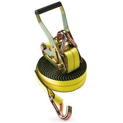 24 Ratchet Straps 2 X 30and039 Wh J Hook Flatbed Truck Trailer Farm Tie Down Strap