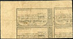 Nc-13a 50andcent Confederate State Of North Carolina Printed On Back Of Bonds Bp1855