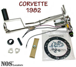 1982 Corvette Stainless Fuel Tank Sending Unit New W/gasket And Hardware