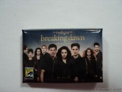 Breaking Dawn Part 2 Cast Exclusive Sdcc 2012 San Diego Comic Con Button Pin