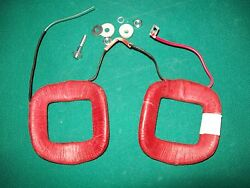 Delco 6 Volt Generator Field Coil Coils Set Kit Cw Rotation Stud And Insulator