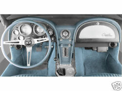 Complete A/c And Heater System W/ A-6 1967 Corvette 67 [cap-1067]