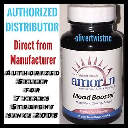 Amoryn Mood Booster Anxiety Relief Stress Reliever Anti Depression