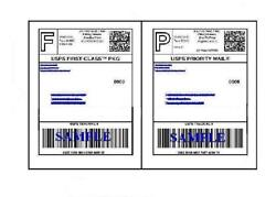 12000 Self Adhesive 8.5 X 11 Shipping Labels For Ups Usps Fedex Paypal Free Ship