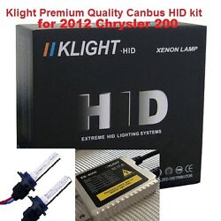 9012 8000K Canbus HID kit Slim AC ballast with relay for Chrysler 200
