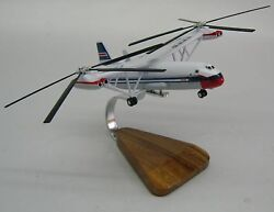 Mil Mi-12 Homer V-12 Helicopter Wood Model Replica Small Free Shipping