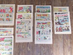 Lot Of Vintage Comic Books Bambi Felix The Cat Popeye Mickey Mouse Bugs Bunny +
