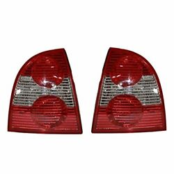 Fits 01-05 Vw Passat Sedan Tail Lamp Right And Left Set Excludes W8 Type