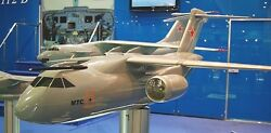 Uac/hal Il-214 Military Transportaircraft Wood Model Replica Large Free Shipping