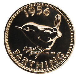 -highly Polished Farthing Birthday Coin Choose Your Year 1937 To 1956