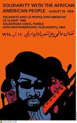 Political POSTER.BLACK PANTHER's Bobby Seale.Civil Rights REvolution Art. am74
