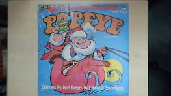 4-exciting Christmas Stories With Popeye And Friends Peter Pan Lp 1977 Sealed