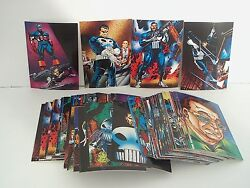 The Punisher War Journal 1992 Marvel Entertainment Group Comic Images Card Lot
