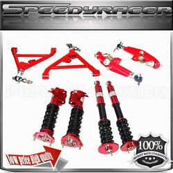 1995-1998 240sx S14 Full Coilover Suspension And Front Rear Lower Control Arm