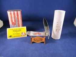 2013 Case Proto 00 Painted Pony Cherry Blossom Russlock Knife Pearl Mint