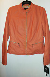 ANDREW MARC LEATHER TOUCH WOMEN#x27;S JACKET NWT$200 ASSORTED COLORS amp; SIZES $50.00