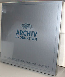 Archiv Boxed Set Of 5-lps Classic Recordings 1956-1982 - Germany 2013 Sealed