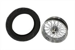 60-spoke X 18 Chrome Wheel And 200 Avon Tire - Complete Kit Mounted And Balanced
