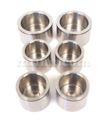 Maserati Mistral Coupe Spider Stainless Steel Front Brake Pistons Set New