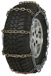 Quality Chain 2127hdqc Cam 7mm Square Link Tire Chains Snow Traction Suv Truck