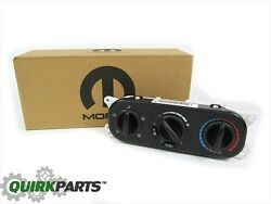 07-10 Jeep Wrangler HEATER & AIR CONDITIONER CONTROL SWITCH MODULE OEM NEW MOPAR