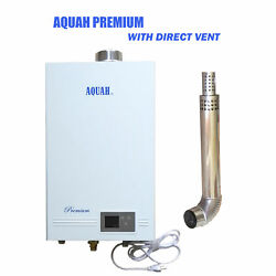 Brand New Direct Vent Natural Gas Tankless Water Heater 3.7 Gpm Whole House