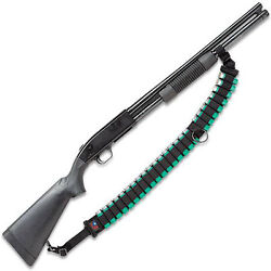 Mossberg 500 Tactical Pump Shotgun Ammo Sling 25 Shells By Ace Case - Usa Made