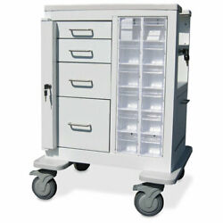 Short All-in-one Mobile Cabinet • 26w X 18d X 37h 1 Ea