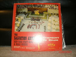 Word W-3252 The Salvation Army New York Staff Band Male Chorus Symphony In Brass
