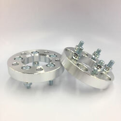2pc 1 Thick Wheel Spacers   5x4.75 5x120.7   7/16 Stud For Older Chevy Buick
