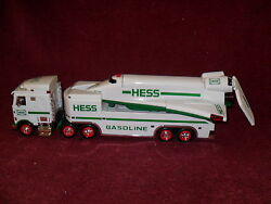 1999 Hess Toy Truck And Space Shuttle W/satellite Store Display Poster