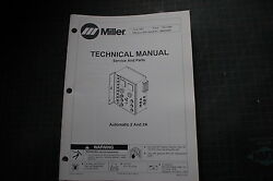 Miller Welder Automatic 2a 2 Weld Owner Service Repair Parts Manual Book Tig Mig