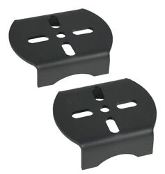 Rear Axle Lower Air Bag Mounting Brackets Air Ride Suspension Weld On Pair
