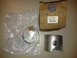 0437412 New Oem Johnson Evinrude Piston And Ring Set Missing Clipsinventory A7