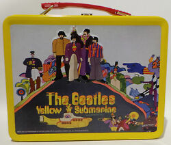 The Beatles Yellow Submarine Lunchbox Made By Apple Corps Ltd In 1999 Mn