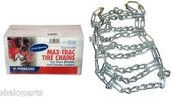 5561 Rotary Set Of 2 23x1050x12 Tractor Tire Chains 2 Link Spacing