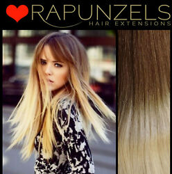 20 Ombre Hair Weave Wefted Root Fade Wig Making Weft Remy Human Hair Extensions
